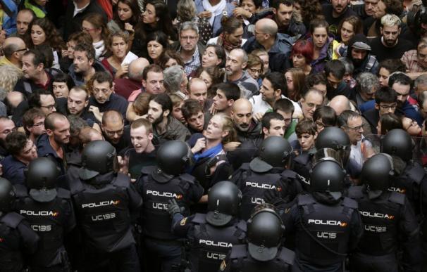 Los indepentistas buscan ajustar cuentas con Policía y Guardia Civil por el 1-O