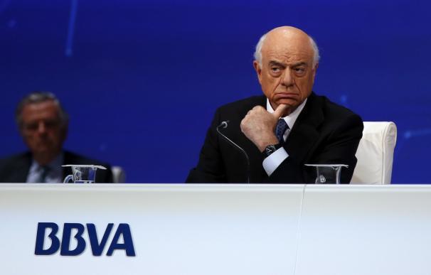 Fotografía de Francisco González, presidente del BBVA
