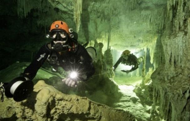 Fotografía del yacimiento arqueológico submarino más grande del mundo.