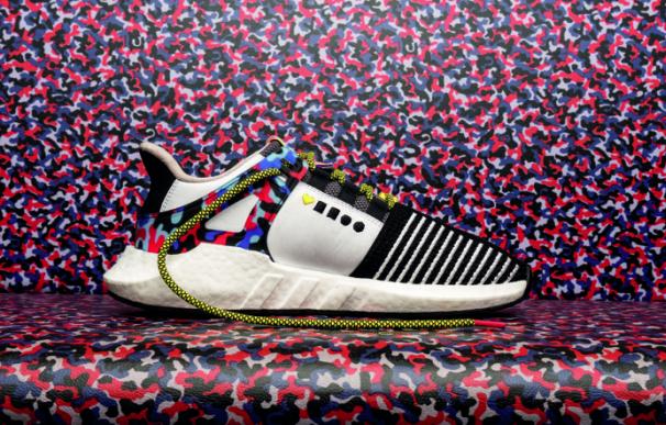 Fotografía de las zapatillas de Adidas para desplazarse gratis en Berlín.