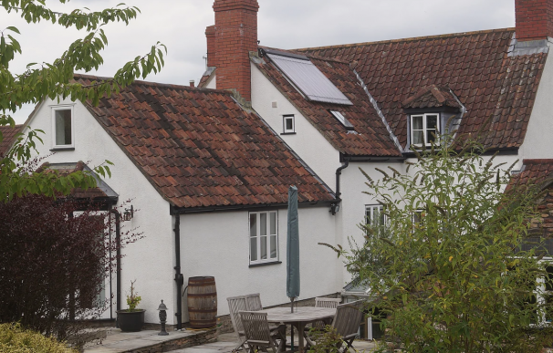 Fotografía de la casa sorteada en Reino Unido.