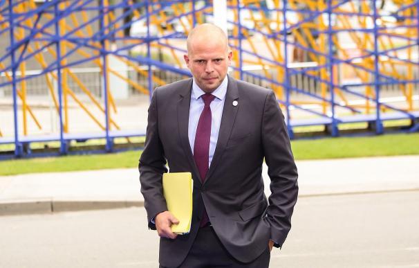 Fotografía de Theo Francken, secretario de Estado belga.