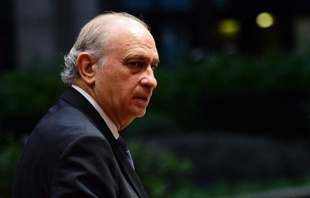 El ministro de Interior español, Jorge Fernández Díaz