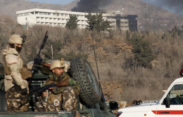 Ataque terroristas en Kabul