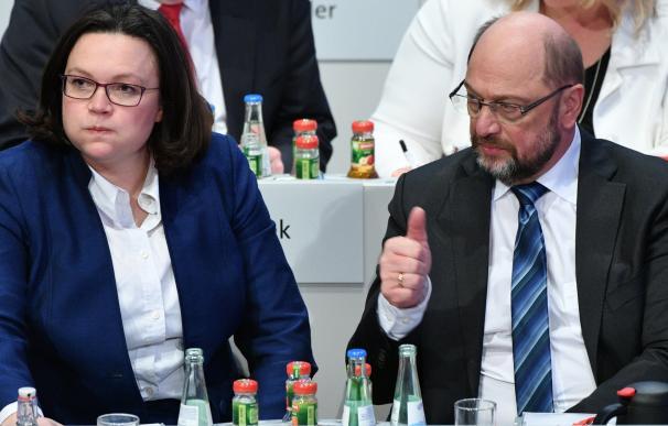 Schulz logra su objetivo