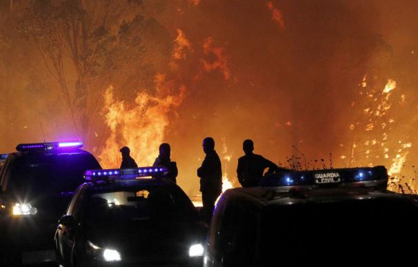 Los incendios asolan Galicia
