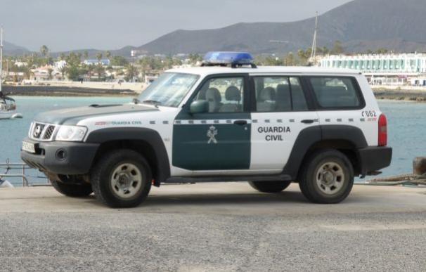 Una patrulla de la Guardia Civil de Fuerteventura