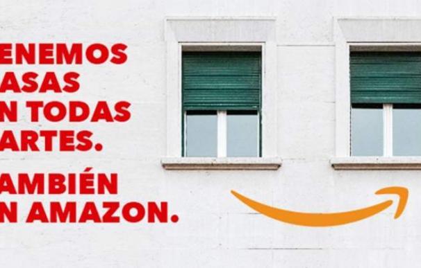 Imagen del anuncio de Altamira y Amazon