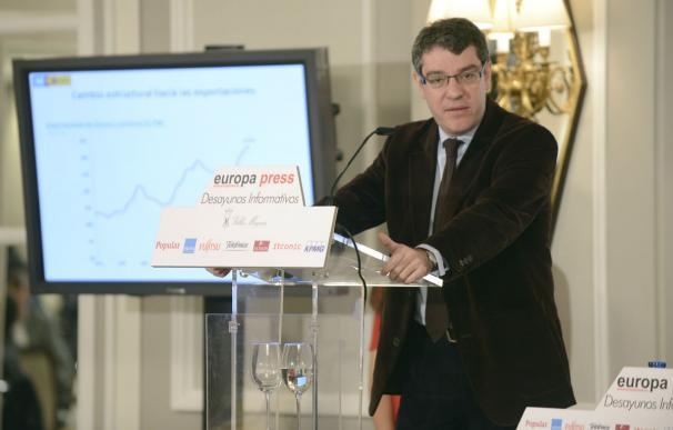 El Ministro Álvaro Nadal en una reciente intervención pública.