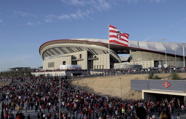 Exterior del Wanda Metropolitano.