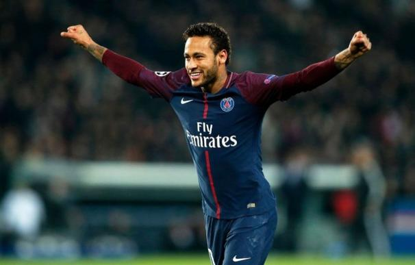 Neymar en el PSG.