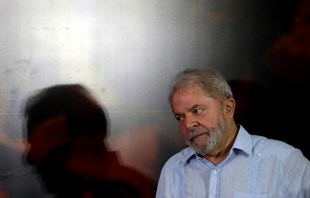 Luiz Inácio Lula da Silva durante una reunión en Sao Paulo