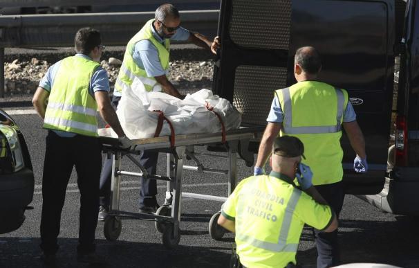 Ocho fallecidos en el accidente de tráfico en Cox (Alicante)