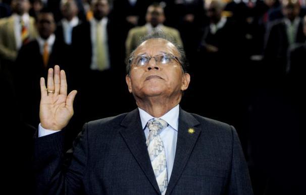 El expresidente del Organismo Judicial y de la Corte Suprema de Justicia, José Arturo Sierra González.