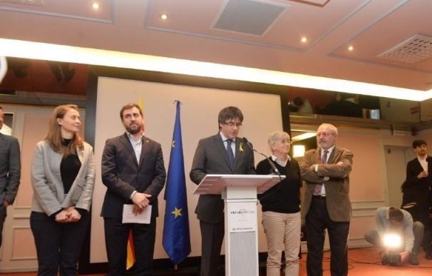 Diputados fugados junto a Puigdemont