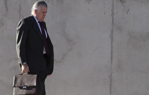 Luis Bárcenas, a su llegada a la Audiencia Nacional.