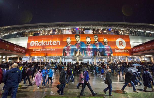 Rakuten, patrocinador del FC Barcelona.