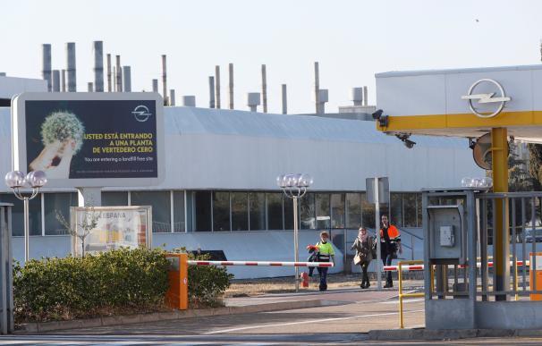 Fotografía de la planta de Figueruelas de Opel