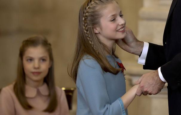Las mejores fotos del 50 cumpleaños de Felipe VI y la princesa Leonor