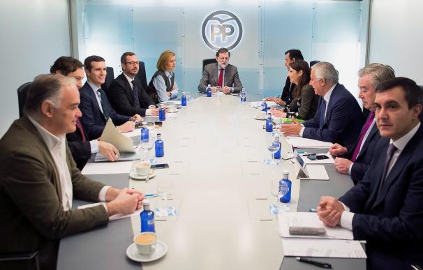 Mariano Rajoy preside la reunión del Comité de Dirección del Partido Popular
