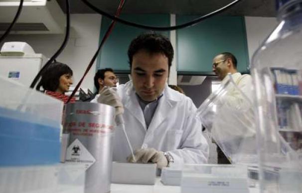 Fotografía de investigadores españoles.
