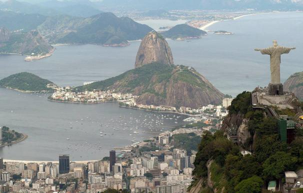 Vista aérea de Río de Janeiro
