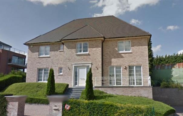 Imagen de la casa que habría alquilado Puigdemont