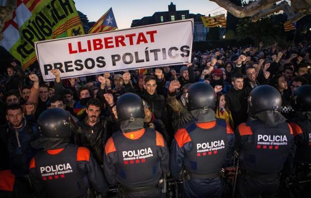 Fotografía manifestantes Cataluña