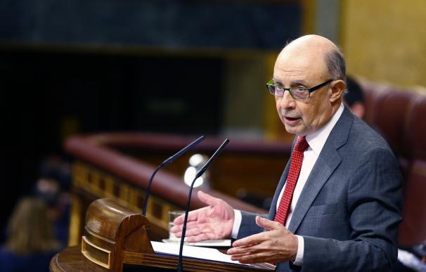 Fotografía del ministro de Hacienda, Cristóbal Montoro, 6 de febrero de 2018