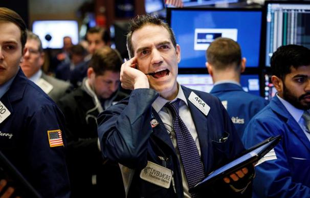 Fotografía de Wall Street, Dow Jones, 6 de febrero de 2018