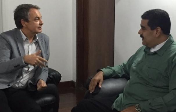 Zapatero se reúne con Maduro en el marco de las tareas de mediación entre Gobierno y oposición