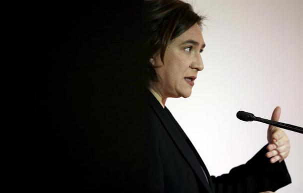 Fotografía de Ada Colau, alcaldesa de Barcelona