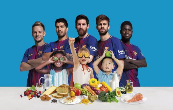 Imagen de la campaña 'See how you can Eat Like A Pro' de Beko