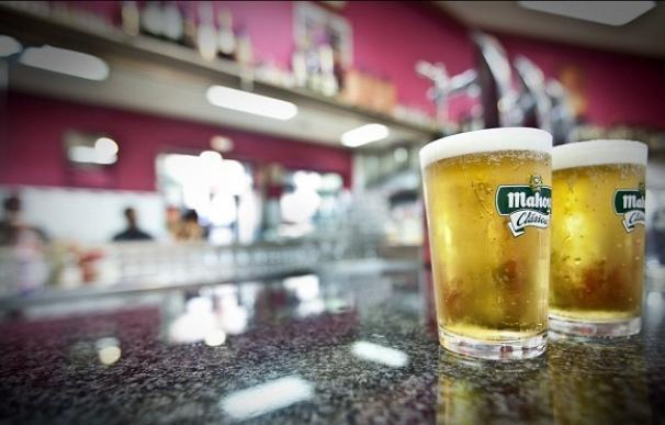 Cervezas de Mahou.
