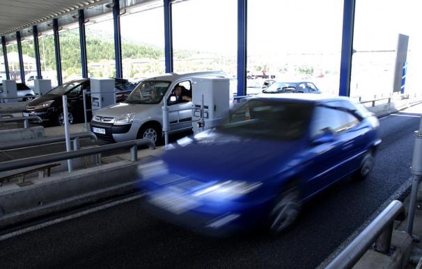Imagen de un peaje de autopista.