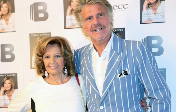 María Teresa Campos y Edmundo Arrocet no se quisieron perder la presentación del libro de Terelu