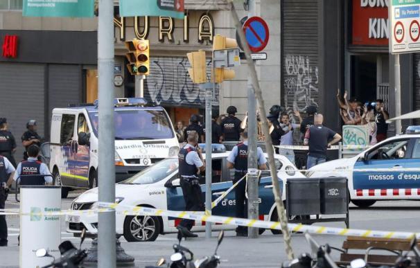 Fotografía del atentado del 18 de agosto en Barcelona