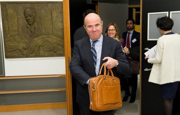 Fotografía de Luis de Guindos, ministro de Economía