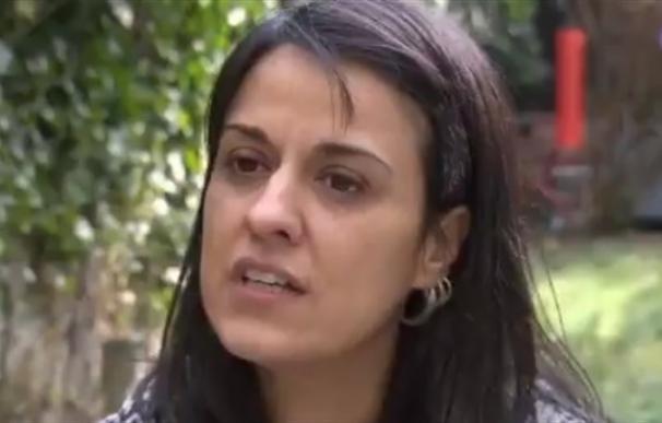 Anna Gabriel durante la entrevista a un medio suizo