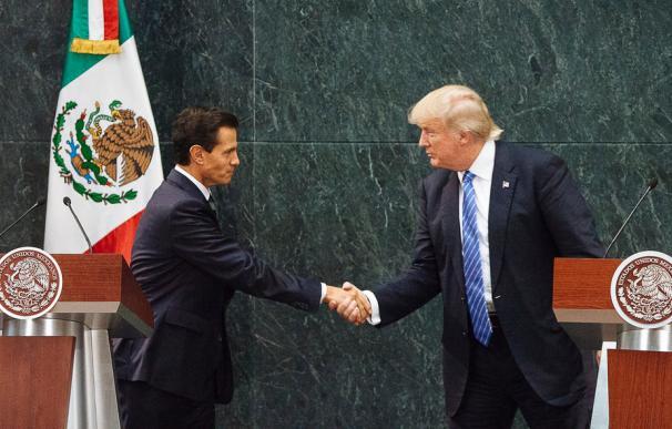 Peña Nieto cancela su viaje a EEUU tras una discusión con Trump sobre el muro