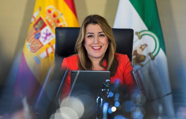 Fotografía de Susana Díaz, presidenta de la Junta de Andalucía
