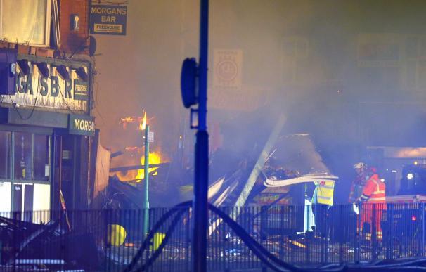 Cuatro muertos en una explosión en la ciudad inglesa de Leicester