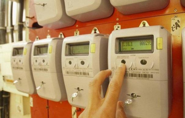 Fotografía contadores de electricidad, luz