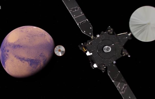 """El aterrizaje de ExoMars mañana en Marte tiene """"un nivel alto de éxito pero muchas incógnitas"""", según expertos"""