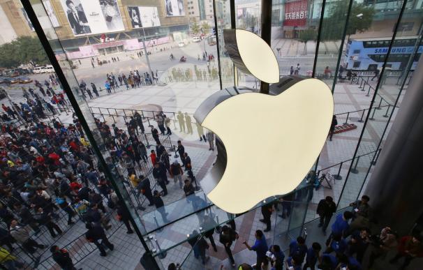 Fotografía tienda de Apple