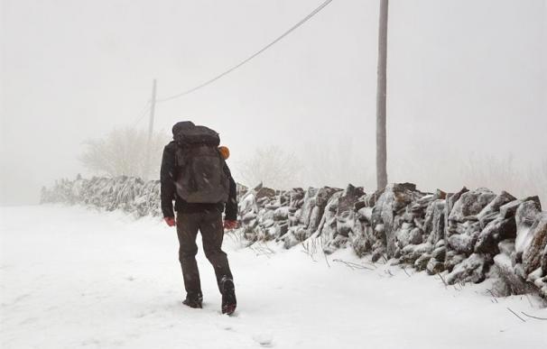 Fotografía del temporal 'Emma' en España, Lugo