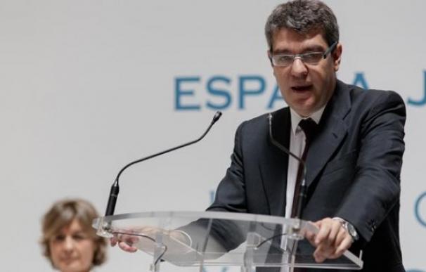 El ministro de Energía, Álvaro Nadal, en un acto público.