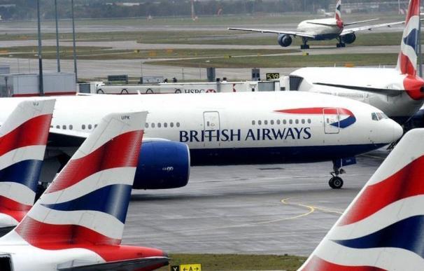 Imagen de aviones de British Airways.