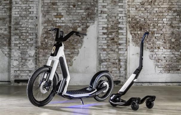 Monopatín y scooter eléctrico de Volkswagen