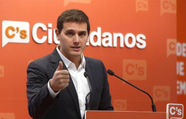 Fotografía del líder de Ciudadanos, Albert Rivera